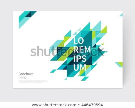 abstract geometric background eps 10 stock photo © beholdereye