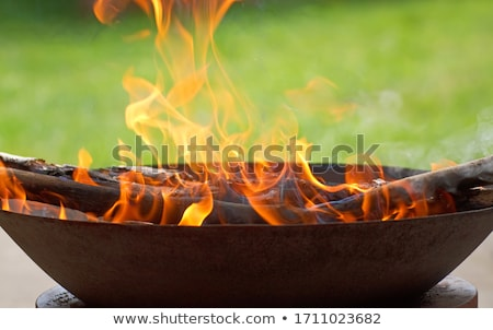 Fire Bowl Stock photo © ArenaCreative