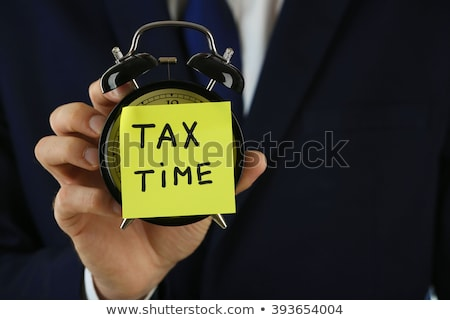 time to taxes concept stock photo © tashatuvango