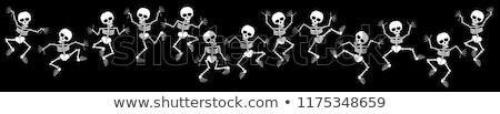 Skeletons of Halloween Stock photo © adrenalina