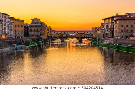 View over Firenze with famous church Stock photo © Stootsy