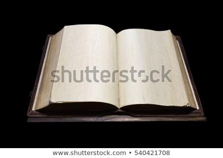 старые молитвы книга антикварная письма древних Сток-фото © kalozzolak