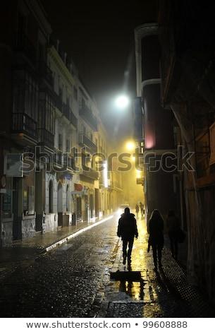 Street Lamp In Seville Stock photo © cosma