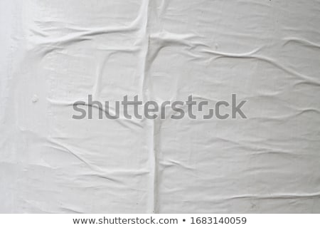 Photo white sheet of crumpled paper Stock photo © cherezoff