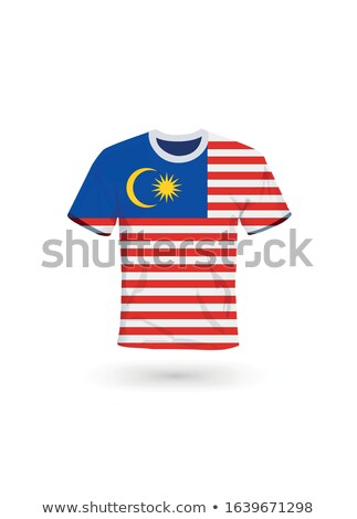 Flag of malaysia with football in front of it Stock photo © MikhailMishchenko