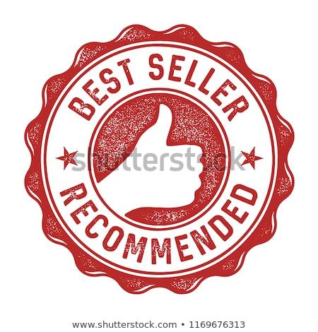 Meilleur vendeur tampon différent best-seller Photo stock © romvo