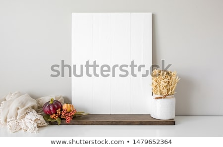 Out of Stock sign leaning on the wall Stock photo © stevanovicigor