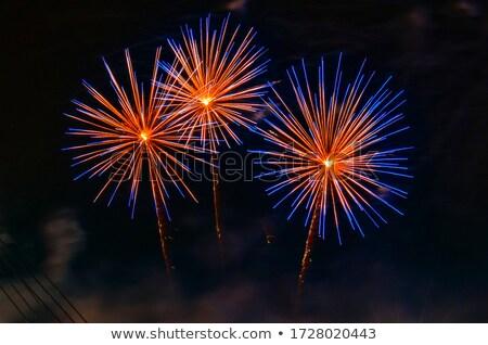 fireworks triple Stock photo © thomaseder