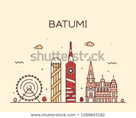 Batumi cityscape Stock photo © joyr