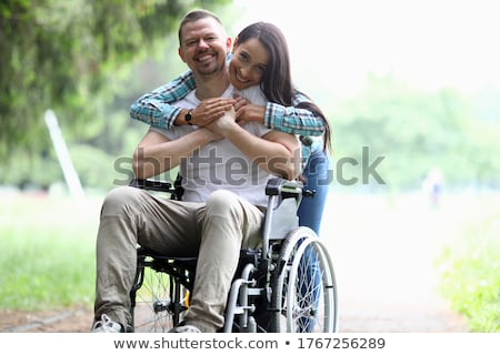 Detail of woman in wheelchair Stock photo © monkey_business