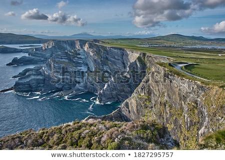 ada · görüntü · güzel · İrlanda · deniz · yaz - stok fotoğraf © magann