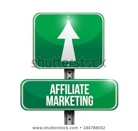 Интернет-маркетинг · шоссе · указатель · интернет · технологий · веб - Сток-фото © tashatuvango