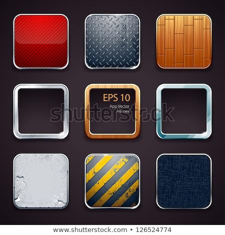 Grunge glossy web button Stock photo © Lizard