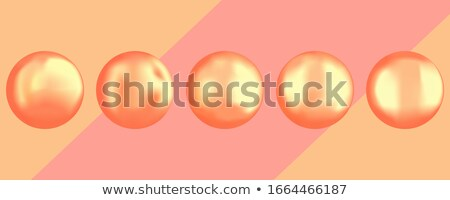Round composition colored gems set Stock photo © arlatis