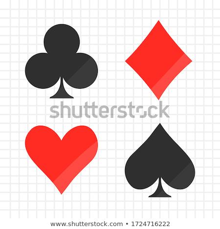 Сток-фото: покер · Diamond · карт · моде · фон · клуба