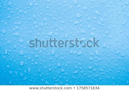 Yağmur damla pencere gün batımı arkasında soyut Stok fotoğraf © bubutu