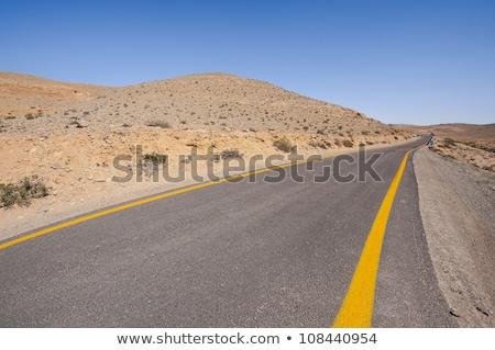 asfalto · sabbia · natura · texture · sfondo · autostrada - foto d'archivio © zhukow