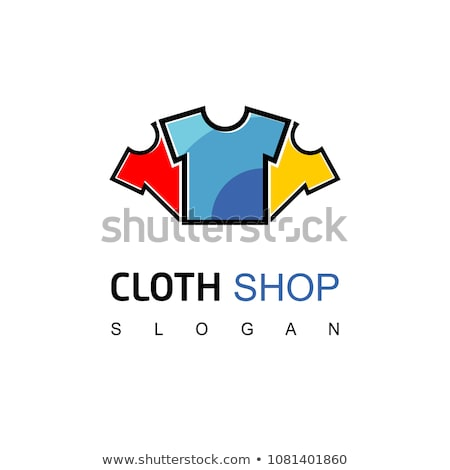 logo for apparel business Stock photo © shawlinmohd