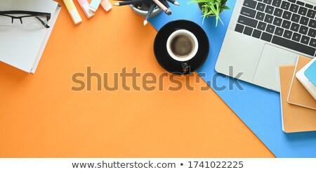 Schedules on Office Folder. Toned Image. Stock photo © tashatuvango