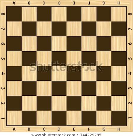 Sakk asztal fehér királynő vereség fekete Stock fotó © fuzzbones0