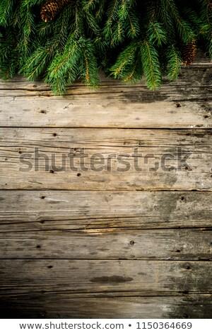 Foto stock: Natal · decoração · espaço · texto · ano · novo