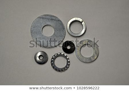 Stock fotó: Fém · csavar · köteg · ipari · textúra · szelektív · fókusz
