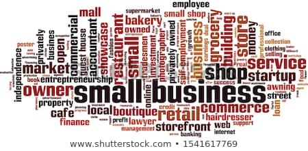 business · english · divertente · conversazione · due · la · gente · 3d - foto d'archivio © fuzzbones0