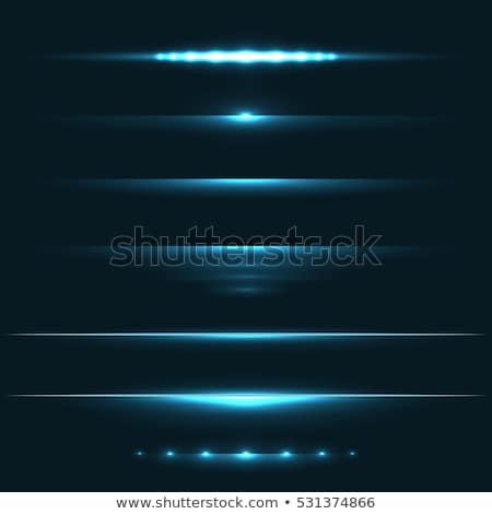 Kék fény fellobbanás hatás vízszintes vektor Stock fotó © tuulijumala
