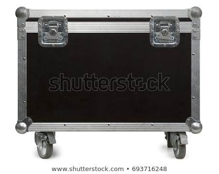 Weg geval vlucht wielen foto geïsoleerd Stockfoto © sumners