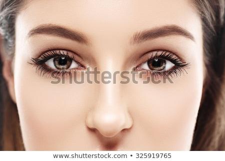 目 眉毛 クローズアップ 眼 アジア 女性 ストックフォト © wavebreak_media