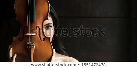 Arab zene szett nők visel hidzsáb Stock fotó © toyotoyo