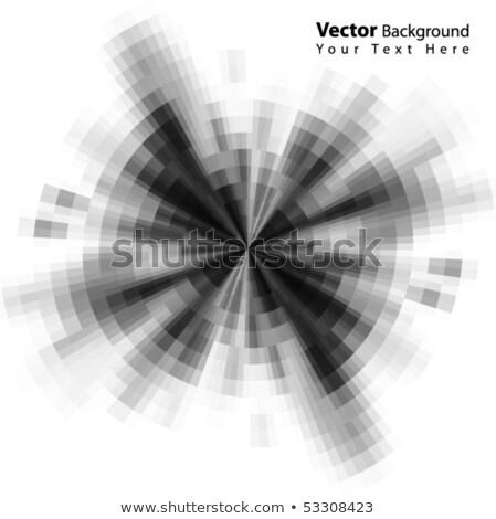 mosaic grayscale abstract background vector Stock photo © blaskorizov