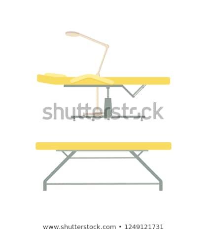 ビューティーサロン · 家具 · 椅子 · ランプ · ボトル - ストックフォト © robuart