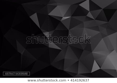 Grey Gradient Low poly Triangular Geometric Polygonal Square Blur glass Abstract Vector Background stock photo © kyryloff