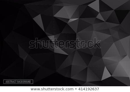Gris gradient faible géométrique carré flou Photo stock © kyryloff