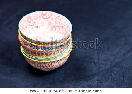 Colorido vazio cerâmico Foto stock © marylooo