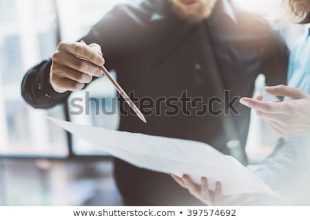 Team job succes. Closeup photo young hands business managers hol Stock photo © Freedomz