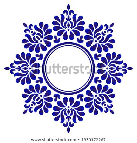 Resumen mandala patrón decorativo fondo arte Foto stock © SArts