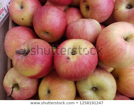 The top view of the apple market at New york Stock photo © Lopolo