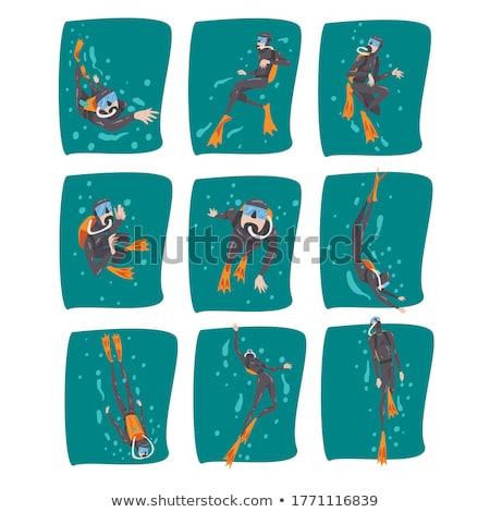 snorkeling diver stock photo © vichie81