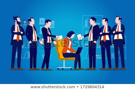 Concept of inequal career opportunities between man woman Stock photo © Elnur