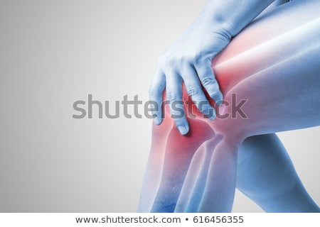 Stock photo: Human Back Joint Pain
