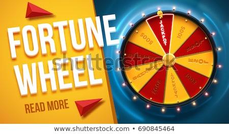 roue · vecteur · signe · Gamble - photo stock © freesoulproduction
