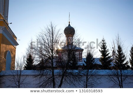 Holy Trinity New Golutvin convent, Kolomna, Russia Stock photo © borisb17