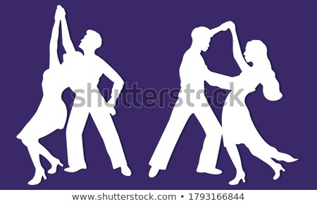 latin american man and woman dancing  Stock photo © diego_cervo