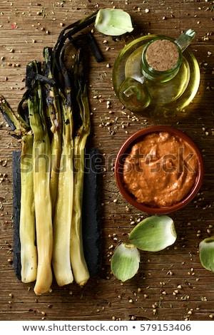 Tatlı soğan tipik İspanya görmek Stok fotoğraf © nito
