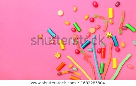 красочный · желе · конфеты · сахар · продовольствие - Сток-фото © photosil