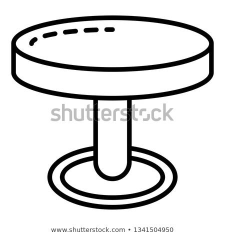 Ceramica processo icona vettore contorno Foto d'archivio © pikepicture