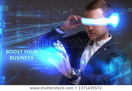 Boost Your Business Or Marketing Strategy Concept Stock photo © olivier_le_moal