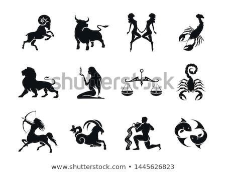 Сток-фото: Aries Astrology Element For Horoscope Zodiac Sign